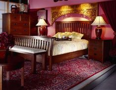 Burgundy Bedroom Indian   Google Search