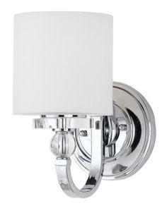 Bathroom Wall Sconces Toronto polish chrome 3 lt vanity w/glass :: multiple lights :: ceiling