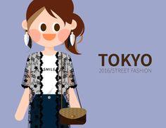 내 @Behance 프로젝트 확인: \u201c2016 TOKYO girl's fashion in S/S\u201d https://www.behance.net/gallery/41083623/2016-TOKYO-girls-fashion-in-SS