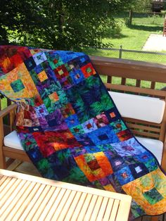 """It's a pattern made for a beginner and one """"should"""" be able to whip this quilt up pretty quickly when one quilts on a fairly regularly basis. Description from mommypixels.wordpress.com. I searched for this on bing.com/images"""