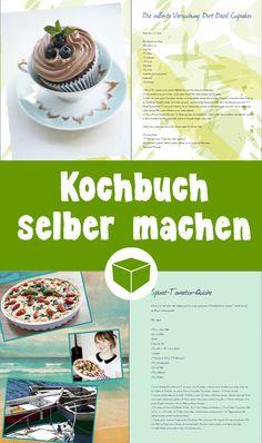 So einfach gestaltest Du ein persönliches Kochbuch selbst. In nur wenigen Schritten fügst Du alle Deine Lieblingsrezepte in Dein eigenes Fotobuch hinzu.