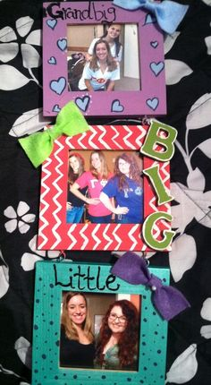big/little crafting only with twin?! PERFECT