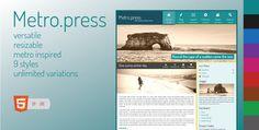 Metro.press   Expressive WordPress Theme