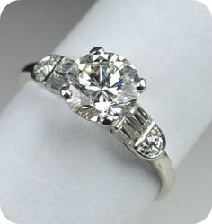 Elegant Diamond Ring - Etsy:  Greenhill Jewelers