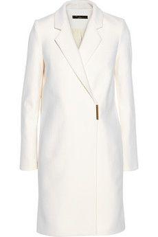 Victoria Beckham Manteau en feutre de laine mélangée à double boutonnage   NET-A-PORTER