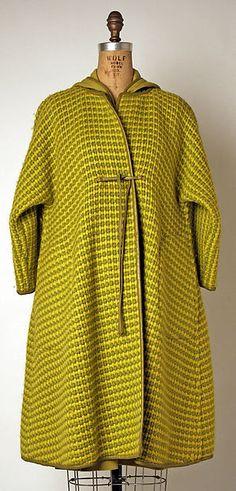 Ensemble Designer: Bonnie Cashin Date: fall/winter 1966–67