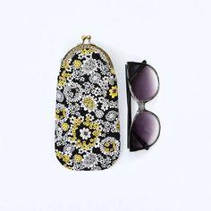 Glasses case Sunglasses case Eyeglass case Flower clutch