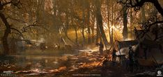 Natural Scenery, Environment Concept Art, Fantasy Landscape, Assassins Creed, Exterior, World, Artwork, Nature, Art
