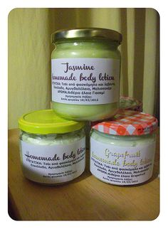 homemade lotion - yes really homemade and not that semi-homemade stuff I keep seeing all over pinterest