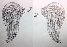 Resultado de imagen de alas de angel dibujo