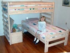 Bunk Bed Plan L Shaped Twin Over Twin