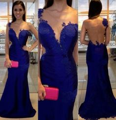 Sexy Prom Dresses,Mermaid PromDresses,Royal Blue Evening Gowns,Party Dresses,Mermaid Evening Gowns,Sexy Formal Dress For Teens
