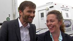 #Broadchurch 3: Behind the scenes with David Tennant and Olivia Colman on ITV's This Morning - Filmed in August 2016 (UK Only)