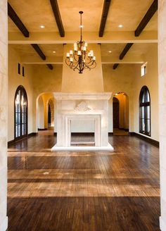 Heyl Homes Luxury Home Gallery  Great Doors and layout of fireplace