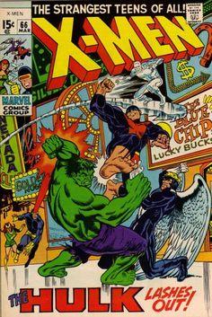 Cover for The X-Men (Marvel, 1963 series) #66