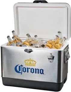 CHECK OUT! https://seethis.co/rgxX0/ #IceChest #Cooler #Corona #Stainless #Steel #Marine #Outdoor #Camping #Fishing