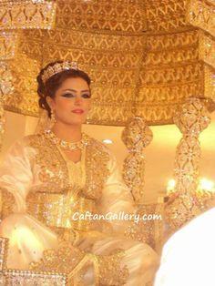 Moroccan bride Caftan Swarovski Crystal