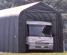 1000 ideas about portable garage on pinterest shelters for Portable rv garage
