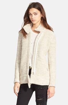 IRO 'Ajuma' Chunky Knit Jacket available at #Nordstrom