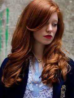 redish brown hair 2014