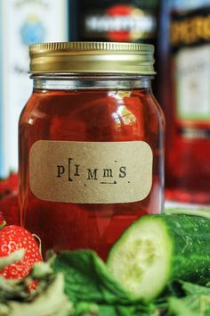 Homemade Pimms Cup | Stroud Green Larder