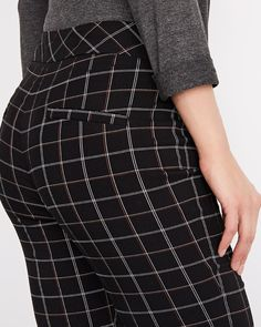 Plaid Modern stretch legging