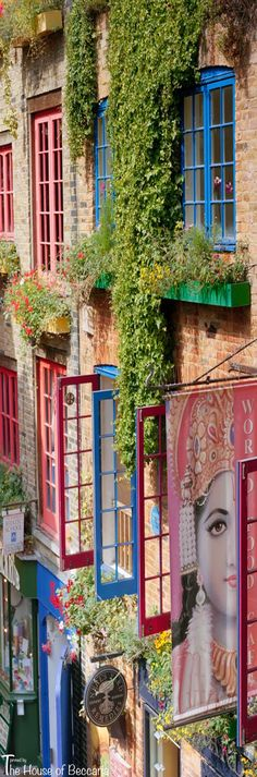 ~Neal's Yard Remedies is a leading independent British retailer of organic natural health and beauty products. Founded in 1981 at the Seven Dials junction in Covent Garden in the West End of London where seven streets converge | The House of Beccaria