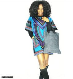 You've got a busy week ahead of you! Take some time this week and wrap yourself up in this gorgeous Ankara Dashiki Print, paired with these FAB FINGERCOMBER FINDS! #FINGERCOMBER #PROTECTIVESTYLES #DASHIKI #ANKARA
