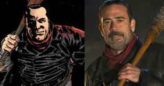 'Walking Dead' Comic Finally Reveals Negan's Origin Story -- A 48-page one-off 'Walking Dead' comic book will explain where Negan comes from and how he got his hands on his iconic baseball bat Lucille. -- http://movieweb.com/walking-dead-negan-origin-backstory-comic/