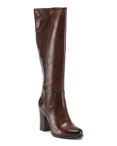 FRYE Heeled Leather Boots $199.99