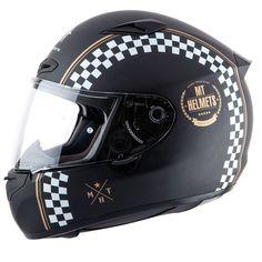Mt Helmets Matrix Café Racer
