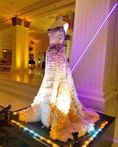 Magical evening🔮💜#versacedress #stunning #grandopening