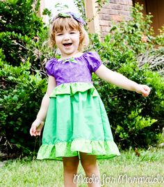 Little Mermaid Ariel Dress- Disney Princess 5 6 7 8 $46