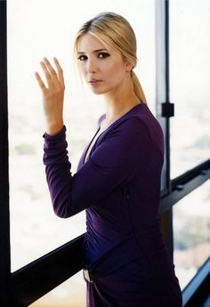 [ #2 Entrepreneurial Female Icon ]  #modcloth #makeitwork  Ivanka Trump, proving that no matter where you come from, you can work hard.
