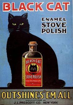 Anuncio vintage protagonizados por gatos