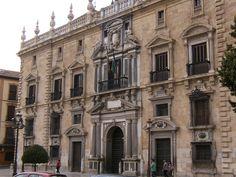 Edificio de la Real Chancilleria de Granada