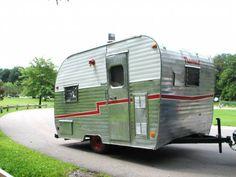 vintage travel trailers travel trailers and vintage travel on pinterest. Black Bedroom Furniture Sets. Home Design Ideas