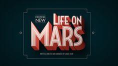 Life On Mars by Lukas Vojir, via Behance