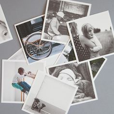 Off your device, into your life.™  These bordered paper prints have a high quality, textured matte-finish.