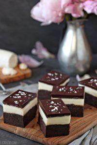 Goat Cheese Brownies via Sugar Hero!