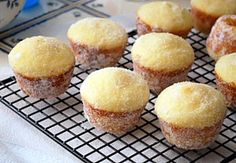 Sugar Donut Muffins @Ginger Kimpton, this is the 'original' recipe...I'll have to try this one next time!