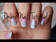 Diping ombre nails - how to do dipping ombre nails tutorial and design