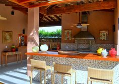 cozinha gourmet rustica - Pesquisa Google