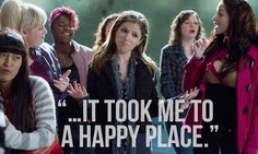 Pitch Perfect Movies to watch when you need cheering up!