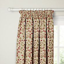 Buy Red / Green John Lewis Sherwood Pair Lined Pencil Pleat Curtains from our Ready Made Curtains & Voiles range at John Lewis. Pleated Curtains, Red Curtains, Panel Curtains, Living Room Red, Home And Living, John Lewis Ready Made Curtains, Pencil Pleat, Curtain Poles, Childrens Room Decor