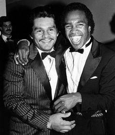 Roberto Duran and Sugar Ray Leonard