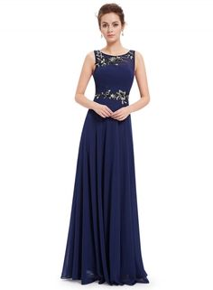 Women's Chic Rhinestone Decor Sleeveless Maxi Dress - OASAP.com