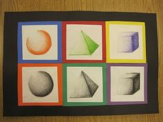 drawing 3D forms