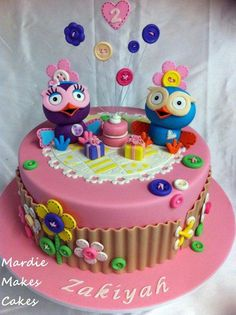Hootabelle and Hoot Cake