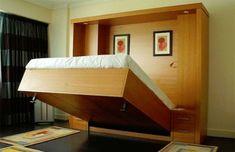 Camas embutidas são alternativas para espaços pequenos  - ZAP em Casa